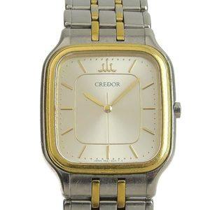 SEIKO Credor Mens Quartz Watch Combination 9581-5020