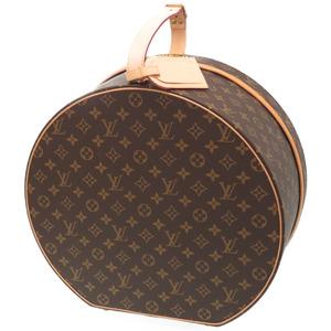 Louis Vuitton Monogram Bowt Shapo 40 M23624 Hat Case Handbag TE CHAP.40 MNG 0090 LOUIS VUITTON
