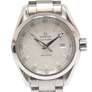 OMEGA Omega Ladies Watch Seamaster Aqua Terra 231.10.30.60.02.001 Silver Dial Quartz