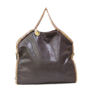 Stella McCartney Stella shoulder bag Falabella 2WAY back chain brown ladies men
