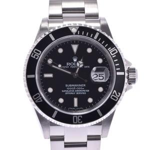 ROLEX Rolex Submariner Black Bezel 16610 Men's SS Watch Automatic winding Dial