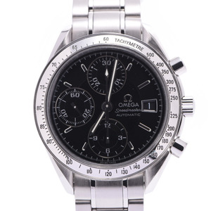 OMEGA Omega Speedmaster Date 3513.50 Men's SS Watch Automatic Black Dial
