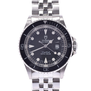 TUDOR Mini Sub Prince Date Stainless Steel Automatic Mens Watch 73090