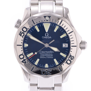 OMEGA Omega Seamaster Professional 2253.80 Men's SS Watch Automatic Blue Dial
