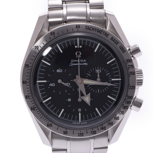 OMEGA Omega Speedmaster 1st Replica Chronograph 3594.50 Men's SS Watch Hand-wound Black Dial