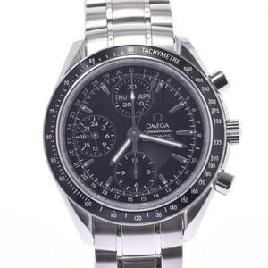 OMEGA Omega Speedmaster Triple Calendar 3220.50 Men's SS Watch Automatic Black Dial