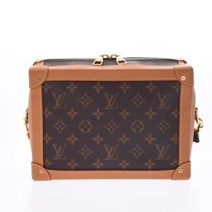 LOUIS VUITTON Louis Vuitton Monogram Soft Trunk Brown M44660 Unisex Shoulder Bag