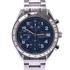 OMEGA Omega Speedmaster 3513.82 Boys SS watch Automatic winding blue dial