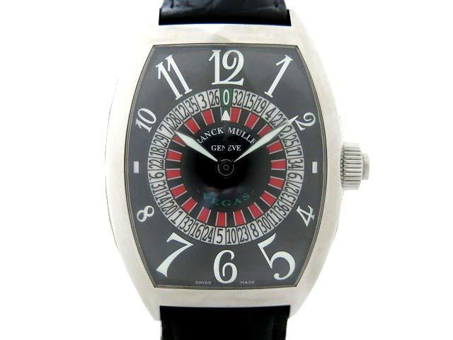 フランクミュラー 8880VEGAS 自動巻き メンズ 腕時計 シリアル33 ヴェガス ルーレット ビッグフェイス 黒 0301 FRANCK MULLER