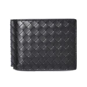 Bottega Veneta Wallet Money Clip BOTTEGA VENETA Calf 123180 Black