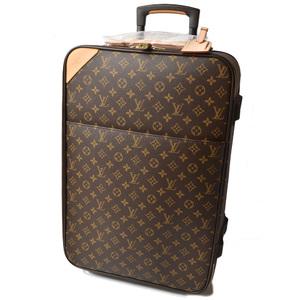 Louis Vuitton Carry Bag Travel LOUIS VUITTON Trolley Pegas 60 Monogram M23250