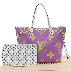 Louis Vuitton LOUIS VUITTON Monogram Giant Never Full MM 2019 Summer Tote Bag M44588
