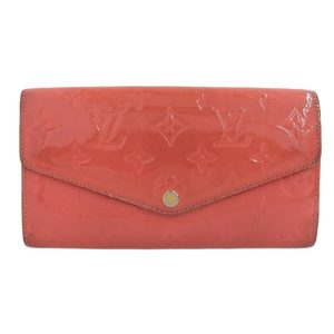 Louis Vuitton Long wallet hot Pink M90313 Vernis Portefeuille Sarah