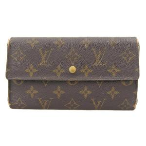 Louis Vuitton Long wallet M61217 Monogram Portefeuille international