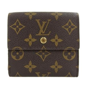 Louis Vuitton Monogram Portefeuille Elise Double Tri-Fold Wallet M61654