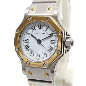Cartier Octagon Automatic winding Combination White dial 20190812