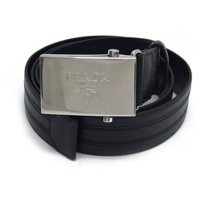 Prada Square Roller Buckle Belt Black 20190903 2-SS201912