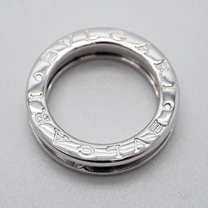 Bulgari BVLGARI B-zero1 1 Band Ring # 47 White Gold 7th Ladies AN852423 K18WG