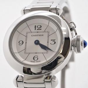 Cartier Miss Pasha W3140007 Stainless Steel Ladies Quartz 27MM