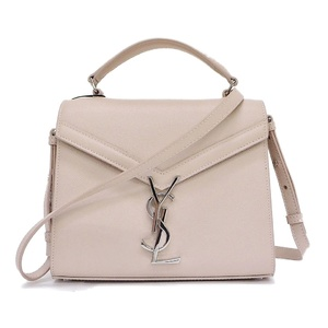 Saint-Laurent Paris SAINT LAURENT Cassandra top handle mini marble pink 2WAY shoulder bag 602716 Ladies