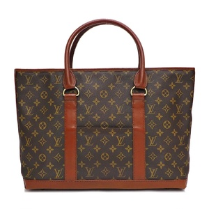 Louis Vuitton LOUIS VUITTON Weekend Monogram Vintage Tote Bag Ladies
