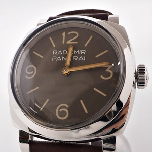 Officine Panerai OFFICINE PANERAI Watch Radiomir 1940 3 Days Acciaio PAM00662 Brown Mens