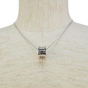 Bvlgari B-zero1 Necklace White Gold 352815 CL857832 Pendant Ladies