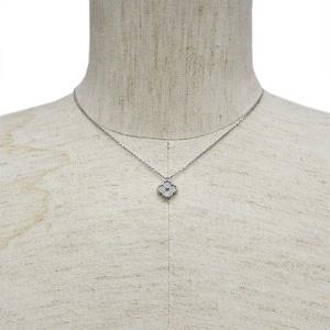 Van Cleef & Arpels Sweet Alhambra Pendant White Gold x Diamond VCARO85900 Ladies Necklace