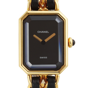 CHANEL Premiere Gold Plated Quartz Ladies Watch H0001