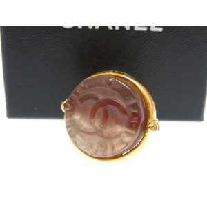 Chanel Gold Coco Mark Ring Accessory Vintage 0056CHANEL