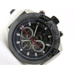 TAG HEUER Heuer Carrera Caliber 01 CAR2A1Z-0 automatic winding men's watch chronograph