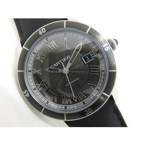CARTIER Cartier Ronde Croix Asiere WSRN0003 Automatic Men's Watch Belt New Replacement