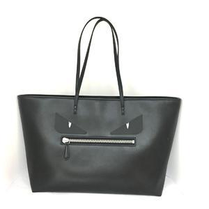 Fendi Monster Tote Bag Metal Shoulder Bag,Tote Bag Black