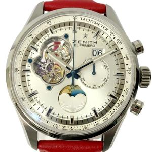 Zenith Automatic Stainless Steel Men's Watch Chronomaster Moonphase watch