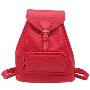 Louis Vuitton Epi Montsouris MM Monaco Park 700th Anniversary Castilian Red Rucksack Bag LV 0033 LOUIS VUITTON