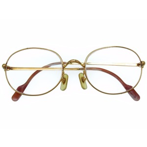 Cartier Trinity eyewear gold frame with glasses degree 0113 CARTIER
