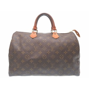 Louis Vuitton Monogram Speedy 35 M41524 Handbag Bag LV 0127 LOUIS VUITTON