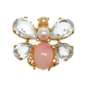 Christian Dior Butterfly motif brooch accessory 0121