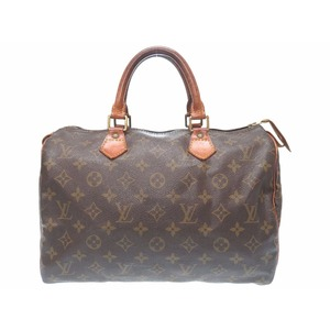Louis Vuitton Monogram Speedy 30 M41526 Handbag Bag LV 0123 LOUIS VUITTON