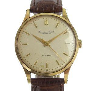IWC Ida Kulsey K18Yellow Gold Mens Automatic Watch cal.853