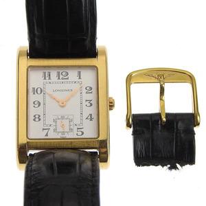 LONGINES Longines K18Yellow Gold Dolce Vita Mens Quartz Watch L5.673.8