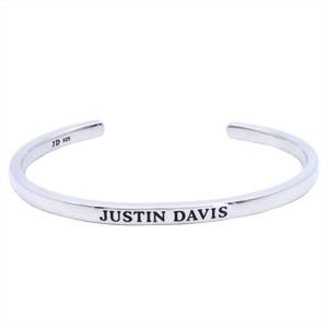 ジャスティン・デイビス(Justin Davis) DIGNITY シルバー925 バングル シルバー