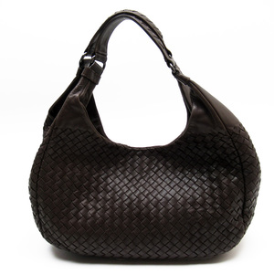 Bottega Veneta BOTTEGA VENETA Shoulder Bag Intrecciato Brown Leather Women's 51124