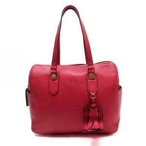 Furla FURLA Shoulder Bag Red Gold Leather Ladies 51168