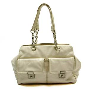 Bottega Veneta BOTTEGA VENETA Handbag Ivory Leather Ladies 51319