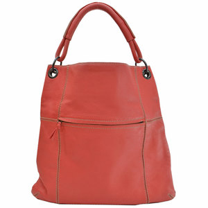 Bottega Veneta BOTTEGA VENETA Bag Red Black Leather Shoulder Ladies 51062