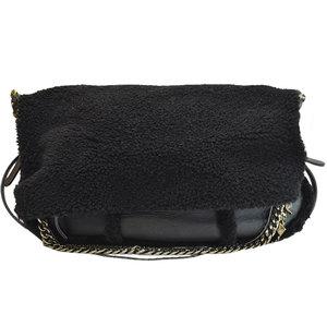 Jimmy Choo JIMMY CHOO Bag Black Metallic Leather Acrylic Shoulder Ladies 51072