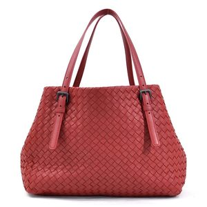Bottega Veneta Shoulder Bag Tote Intrecciato Small Chester Red Leather BOTTEGA VENETA Women's 97904f