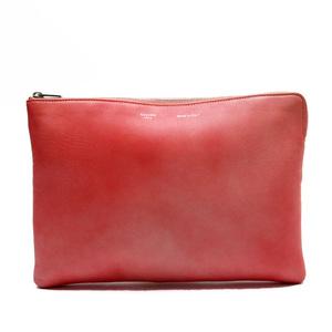 Celine CELINE Clutch Bag Second Pink Leather Ladies 52067d