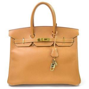 Hermes Handbag Birkin 35 Natural Ardennes HERMES Ladies 97949a